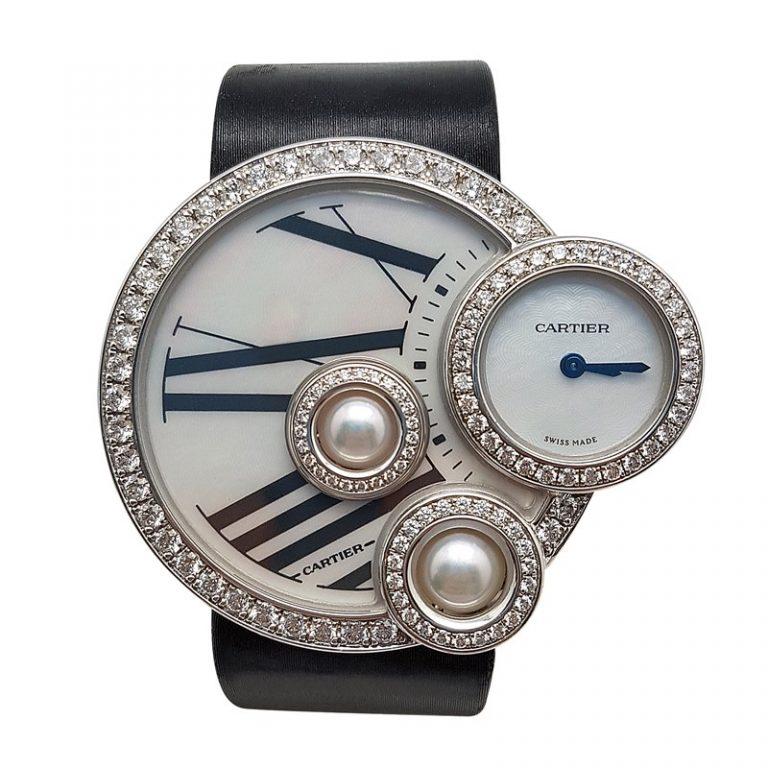 Cartier Perles De Cartier Diamond Watch
