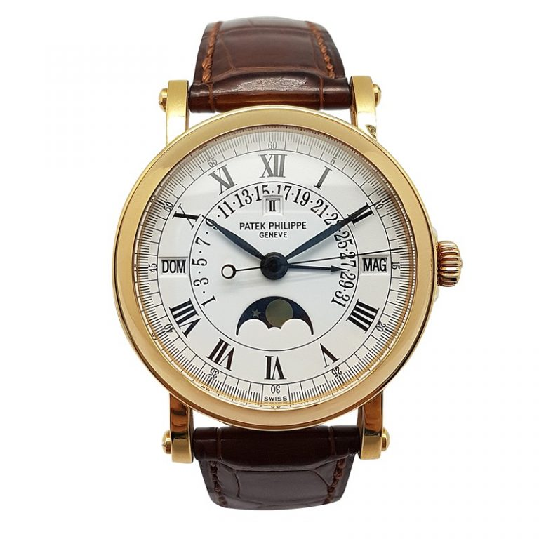 Patek Philippe 5059J-001 18K Gold Watch