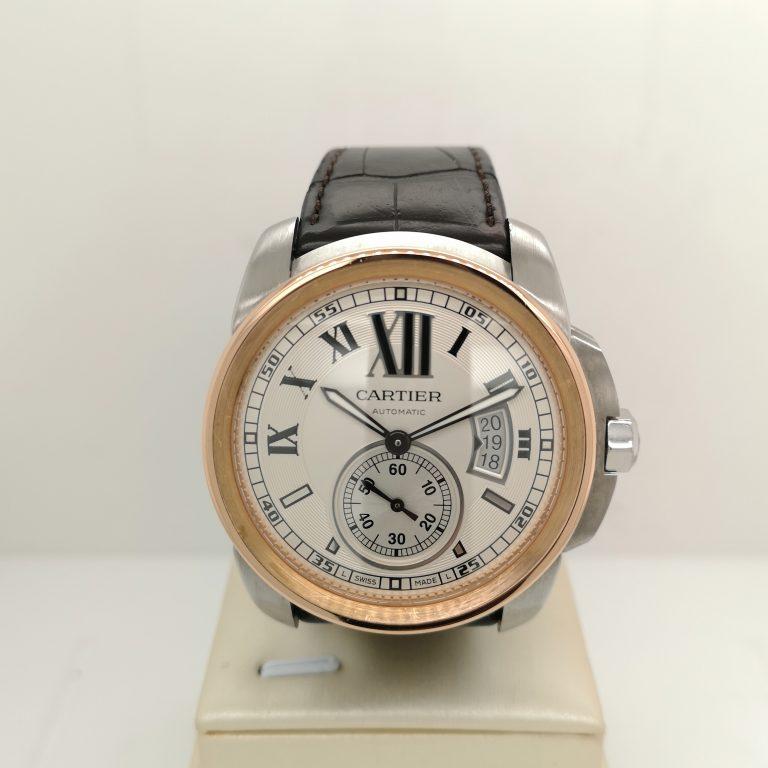 Cartier Calibre De Cartier Rose Gold Watch