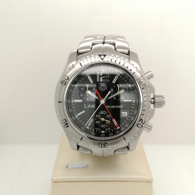 Tag Heuer Link Chronograph Watch