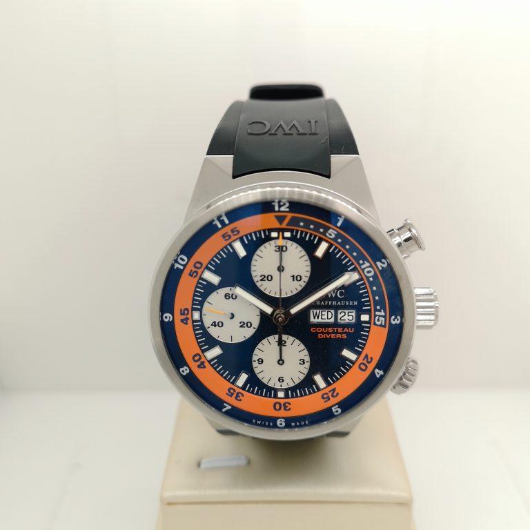 IWC Aquatimer Cousteau Diver Watch