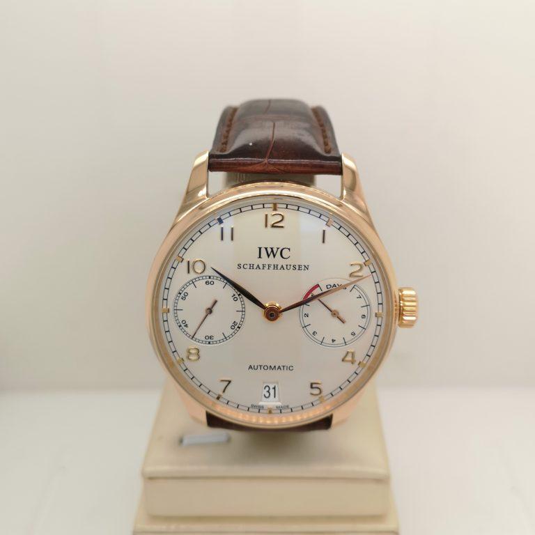 IWC 18K Rose Gold Portugieser Watch