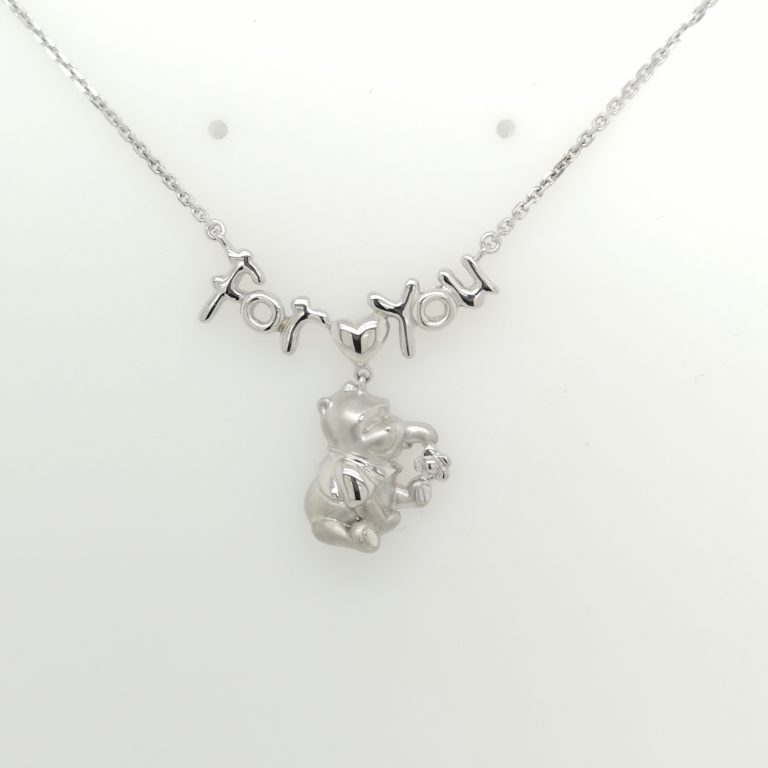 Dangling Pooh Necklace