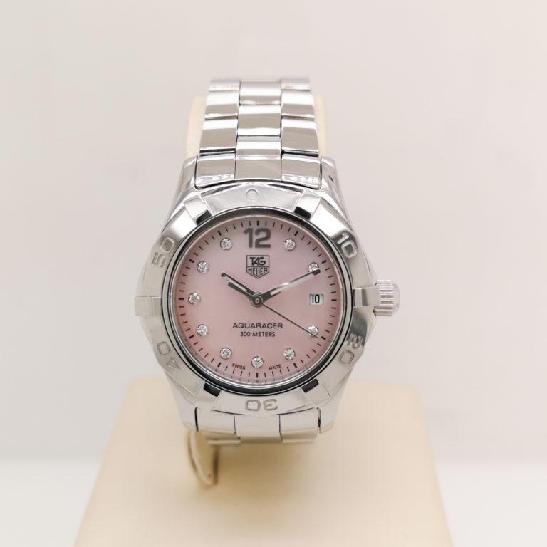 Tag Heuer Aquaracer Watch With Diamonds