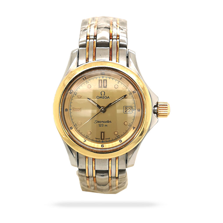 Omega Seamaster Chronometer Gold St.Steel Vintage Watch