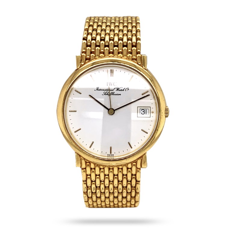 IWC 18K Yellow Gold Watch
