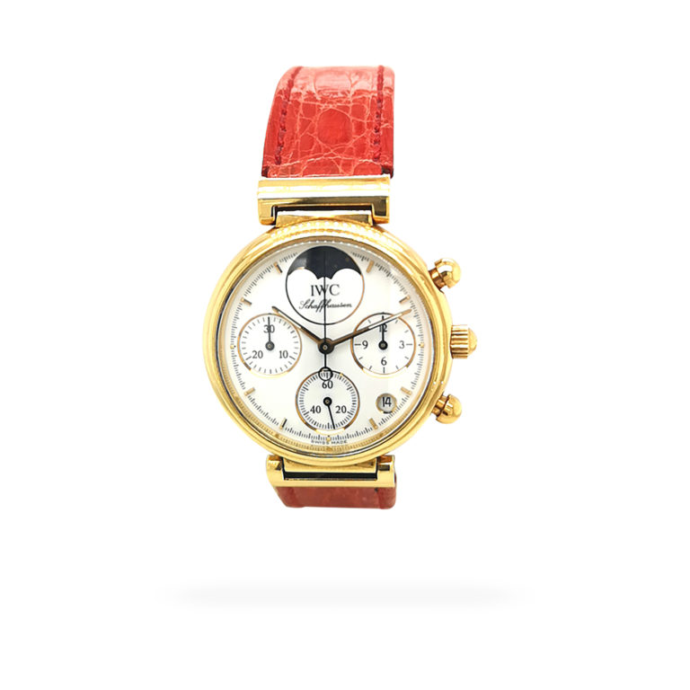 IWC Da Vinci Chronograph Gold Watch