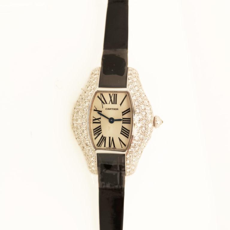 Cartier Tonneau Diamond Watch