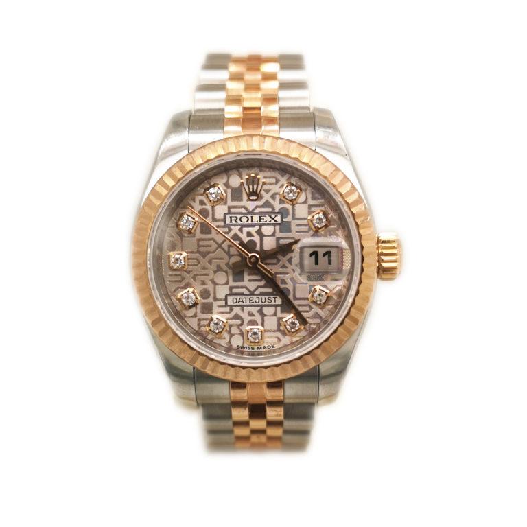 Rolex Lady Datejust Diamond 179171 Watch