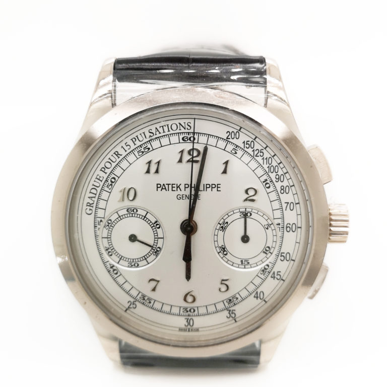 Comes with certificate 2016 Movement: Manual winding Case Material: White Gold Bracelet Material: Leather Case Diameter: 39mm Dial numerals: Arabic numerals