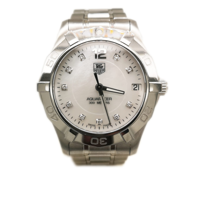 Tag Heuer Aquaracer WAF1312 Mother of Pearl Ladies Watch