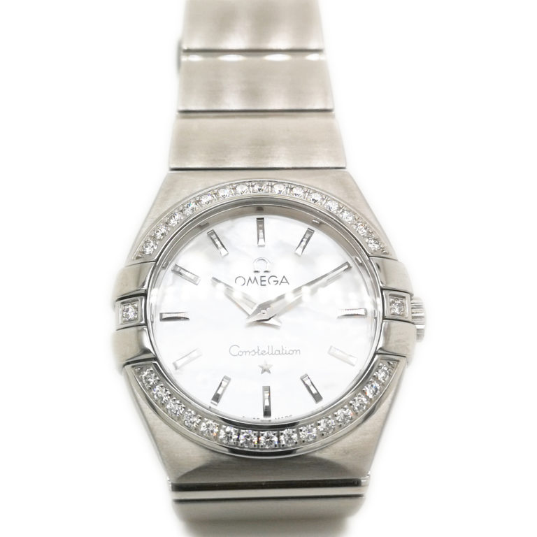 Omega Ladies Constellation MOP Watch