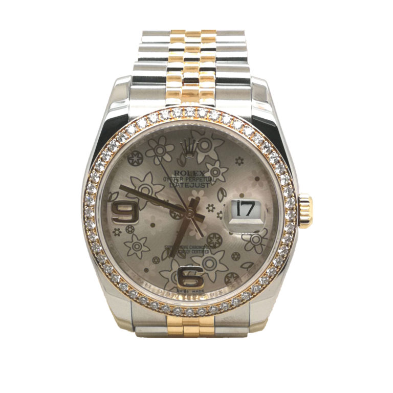 Rolex Oyster Perpetual Datejust Diamond 116243 Watch