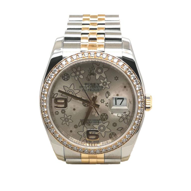 Rolex Oyster Perpetual Datejust Diamond 116243 Watch
