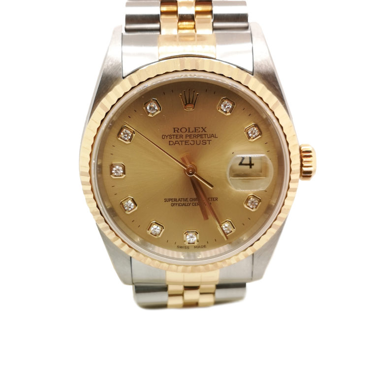 Rolex Datejust Diamond 16233 Watch