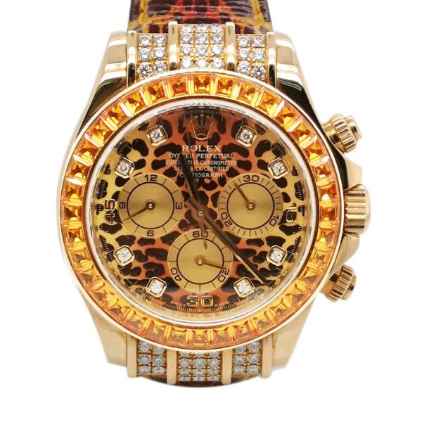 Rolex Daytona Leopard 116598 Watch