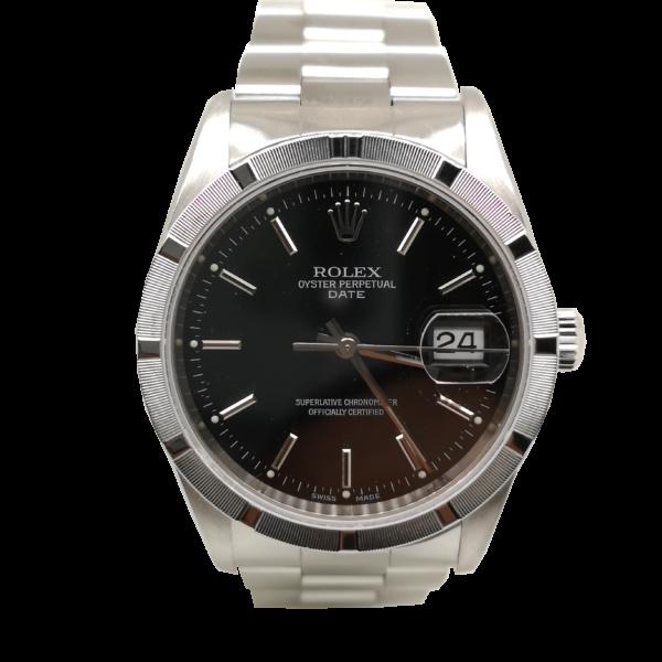 Rolex Oyster Perpetual Date 15210 Watch