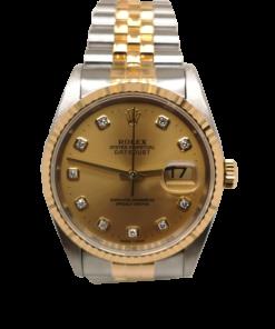 pre owned rolex singapore - Rolex Datejust Diamond 16233 Watch