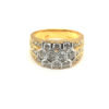 18K Yellow Gold Diamond Ring | 1.72 Carat Diamonds