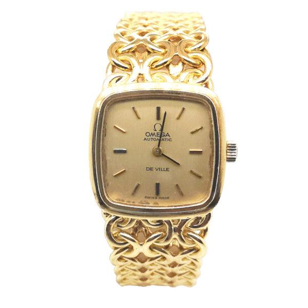 Omega De Ville 18K Yellow Gold Watch