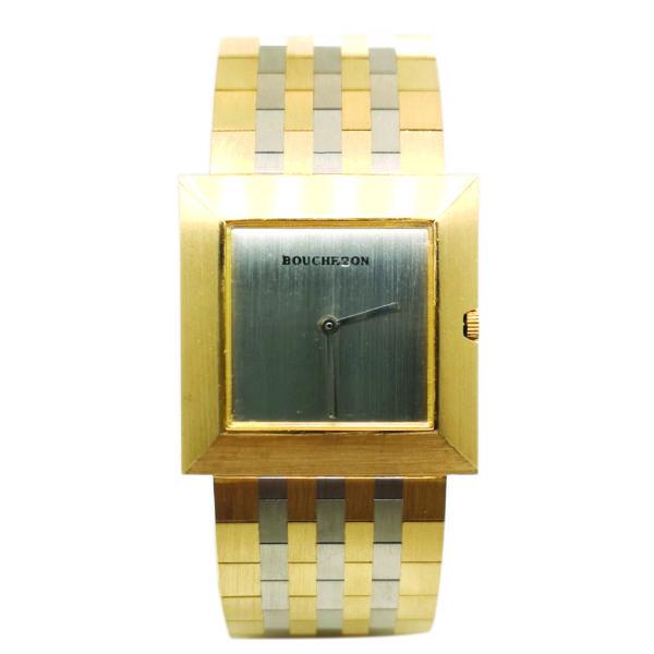 Boucheron 18K Yellow Gold Men's Watch