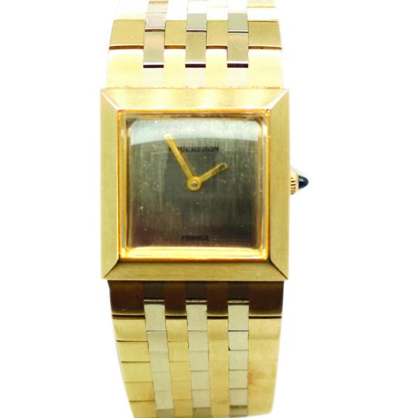 Boucheron 18K Yellow Gold Women's Watch