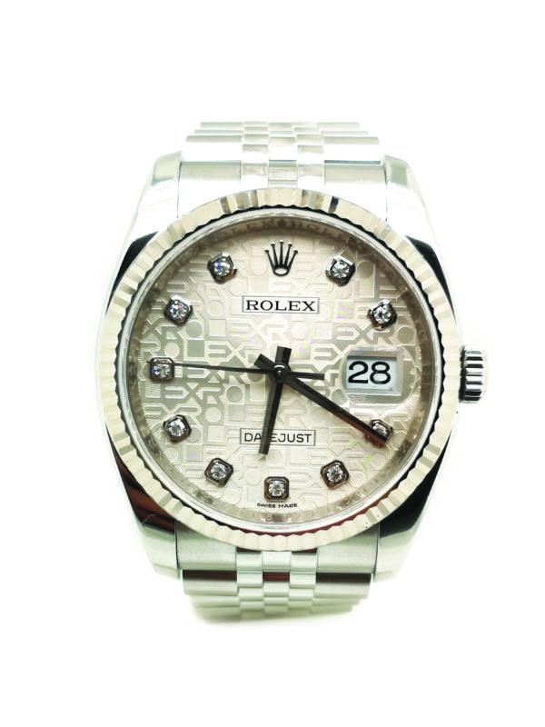 Rolex Datejust Diamond 116234 Watch