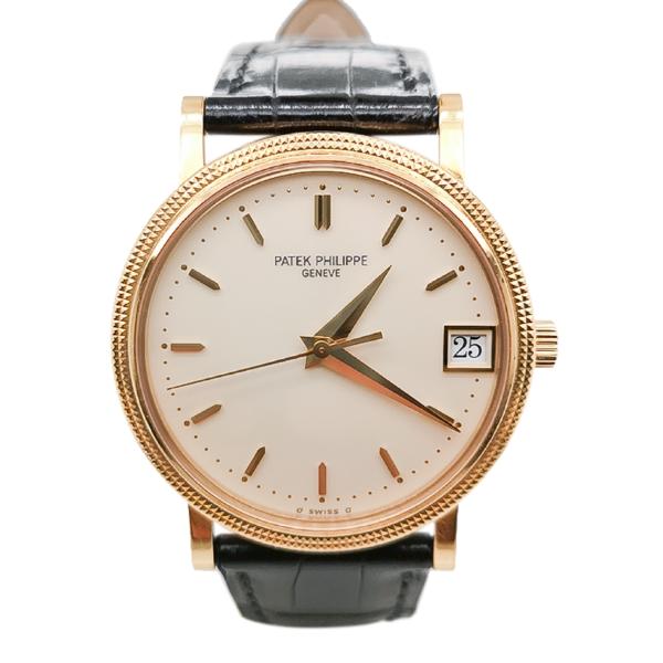 Patek Philippe Calatrava 18K Gold 3802/200 Watch