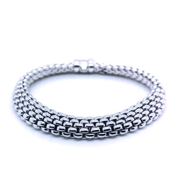 18K White Gold Bracelet