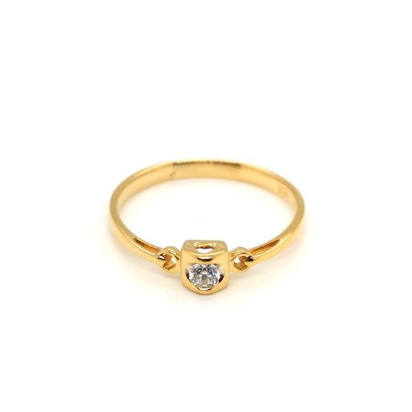18K Yellow Gold Diamond Ring18K Yellow Gold Diamond Ring