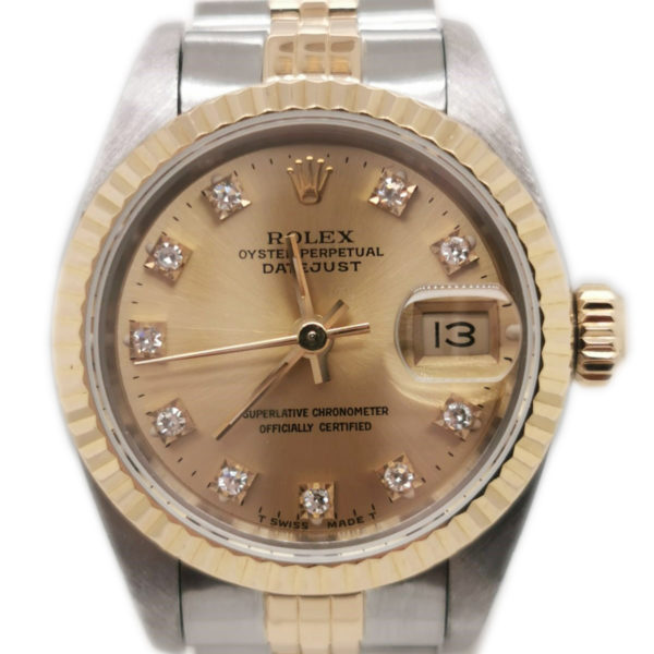 Rolex Datejust Diamond 69173 Watch