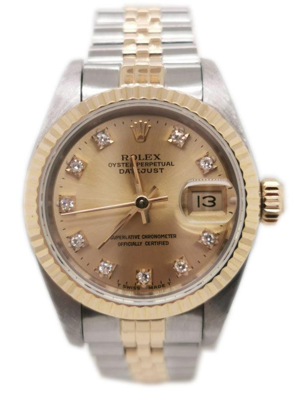 Rolex Datejust Diamond 69173 Watch