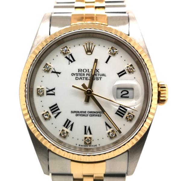 Rolex Datejust Diamond 16233 Watch