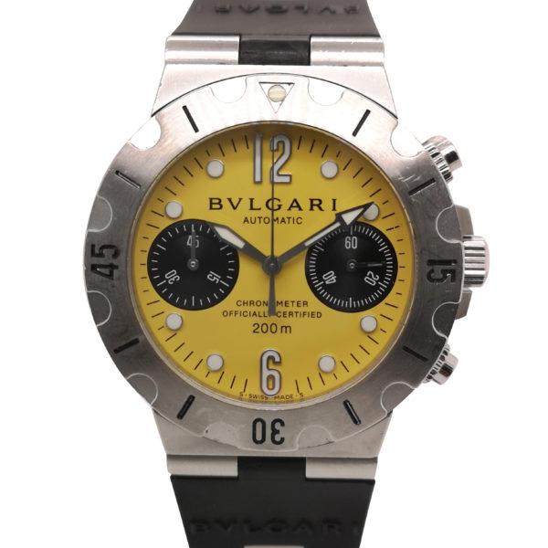 Bvlgari Diagono Scuba SCB38S Watch