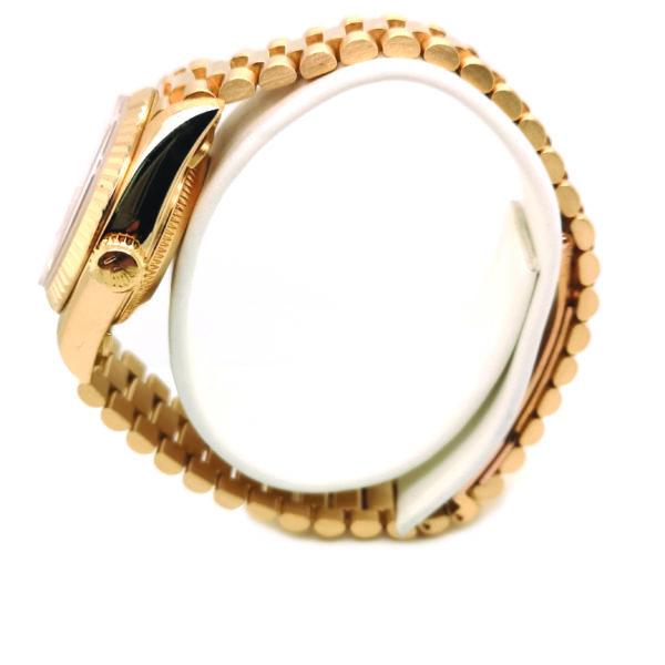 Rolex Lady Datejust Diamond 18K Yellow Gold 69178 Watch side