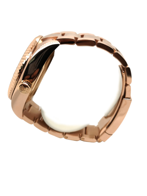 Rolex Sky-Dweller 18K Rose Gold 326935 Watch side