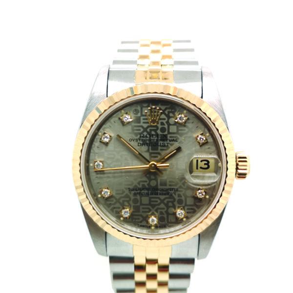 Rolex Datejust Diamond 68273 Watch