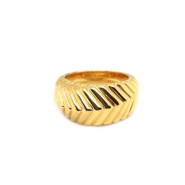18K Yellow Gold Tiffany&Co. Ring
