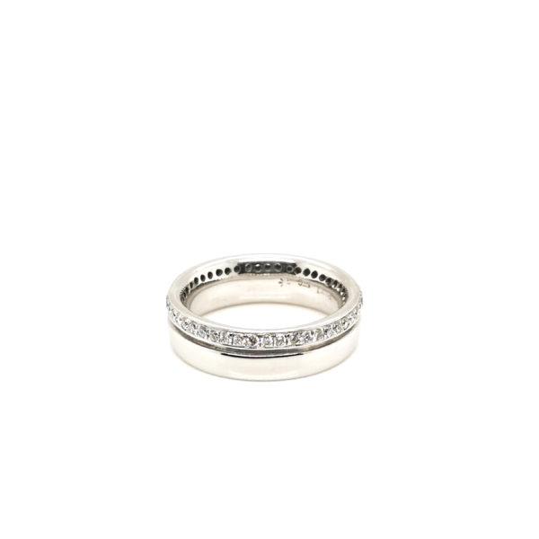 Silver/Platinum Diamond Ring