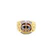 18K Yellow Gold Zircon Ring