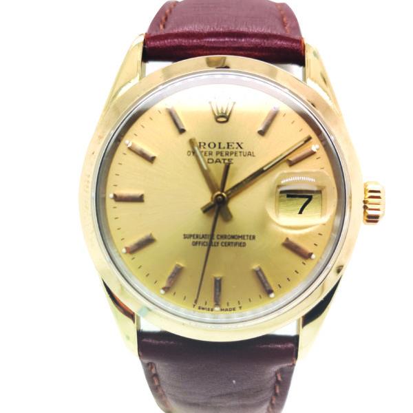 Rolex Oyster Perpetual Date 1550 Watch