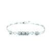 18K White Gold Diamond Bracelet