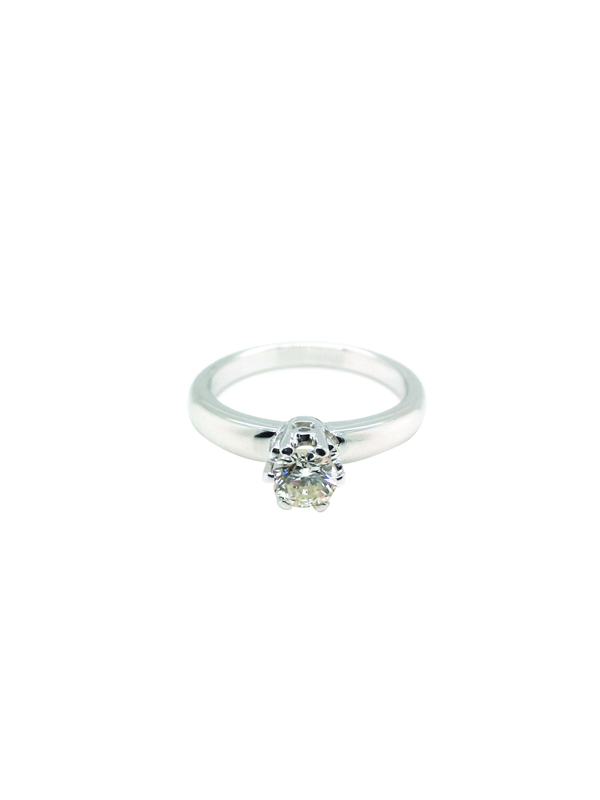 PT950 Diamond Ring