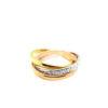 18K Yellow/White/Rose Gold Ring