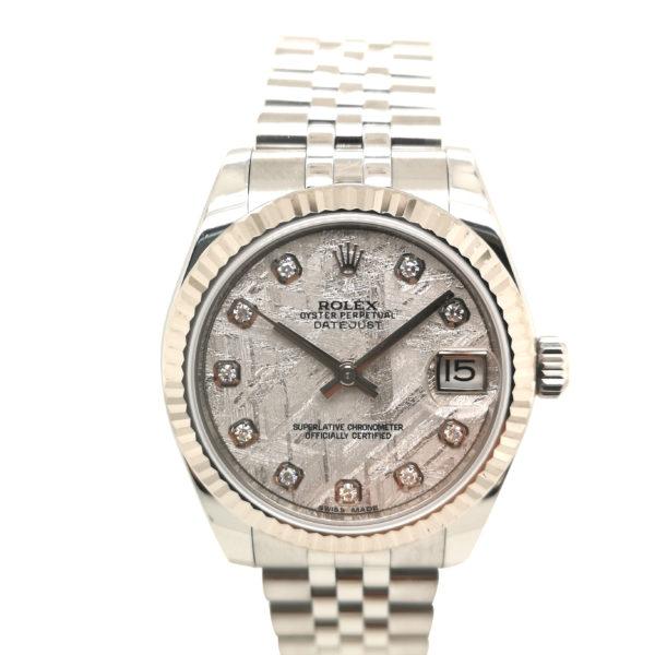 Rolex Datejust Diamond Meteorite 178274 Watch