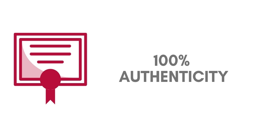 100% authenticity jewellery