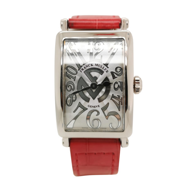Franck Muller Long Island 18K White Gold Watch