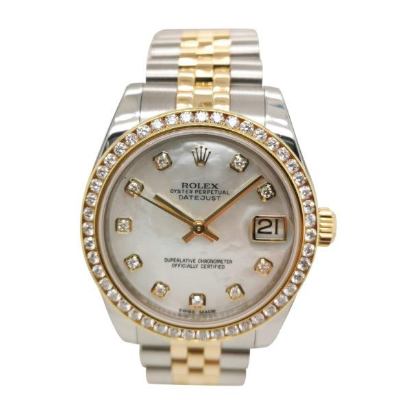 Rolex Datejust Diamond 178273 Watch