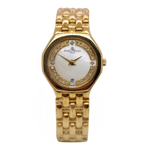 Baume & Mercier Diamond MOP Watch