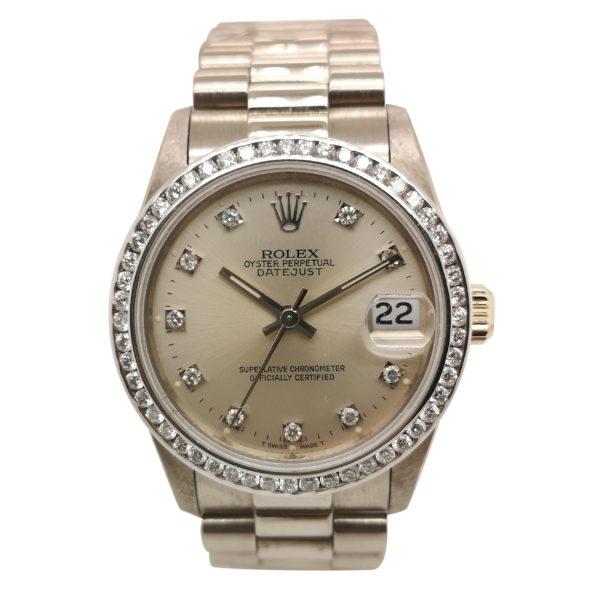 Rolex Datejust Diamond 68279 Watch